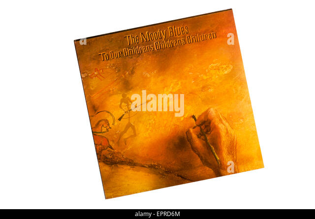 To Our Children's Children's Children was the 5th album by The Moody Blues, first issued in 1969. - Stock Image