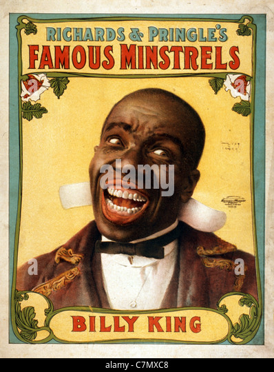 Richards & Pringle's Famous Minstrels - Stock Image
