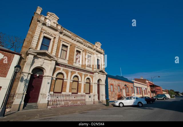 Colonial architecture in Port Adelaide, South Australia, Australia, Pacific - Stock-Bilder