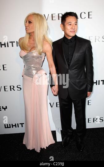 Designer Donatella Versace Stock Photos & Designer ...