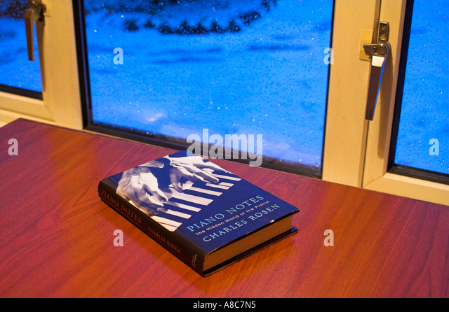 The Book on the table - Stock Image