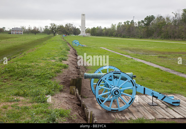 Chalmette Battlefield - Stock Image