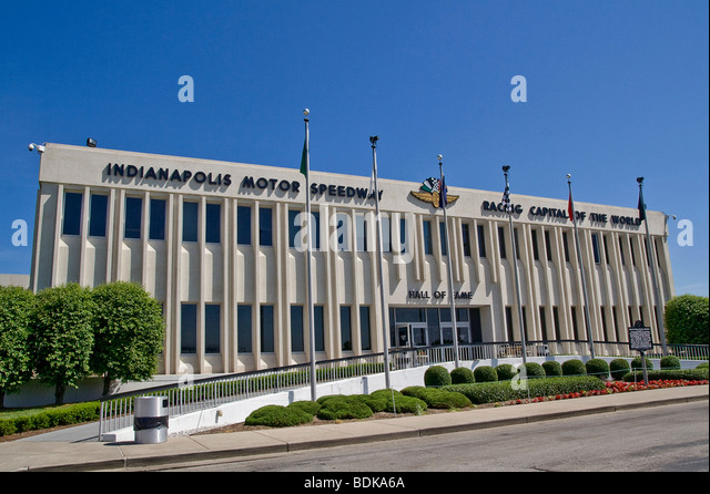 The indianapolis motor speedway hall of fame stock photos for Indianapolis motor speedway museum