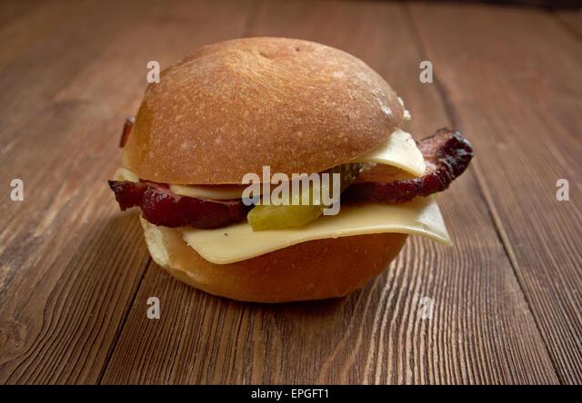 american sandwich - Stock Image