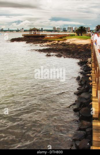 Photo taken in Punta del Este, Montevideo - Stock Image