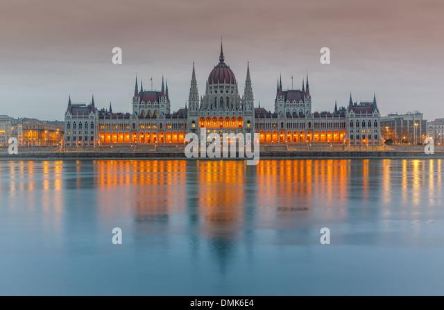 Parliament building, Budapest - Stock Image