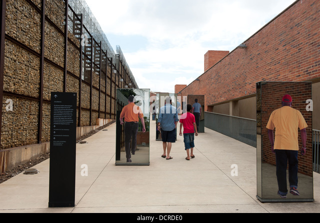 Apartheid Museum, Johannesburg, South Africa - Stock Image