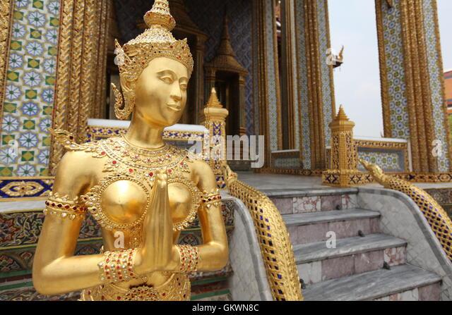 Thailand, Bangkok, Grand Palace - Stock Image