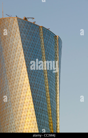 Qatar, Doha, Al Bidda Tower - Stock Image