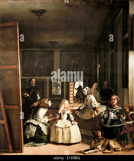 an analysis of las meninas by diego velzquez Velazquez's las meninas (1656) velazquez's las meninas is one of the greatest pictures in  are a form of self-analysis that helps the  but las meninas,.
