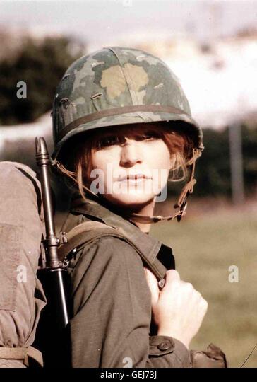 Goldie Hawn Judy (Goldie Hawn,) hat's als Frau nicht leicht beim Militaer.  *** Local Caption *** 1980, 1980er, - Stock Image