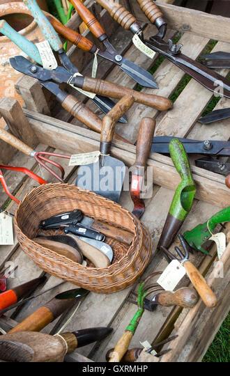 Gardening tools flower handle stock photos gardening for Garden tools for sale uk
