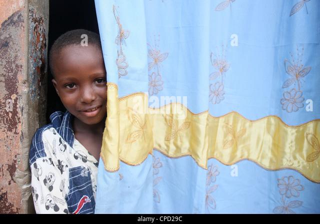 African boy, Lome, Togo, West Africa, Africa - Stock-Bilder