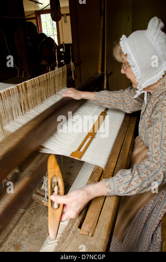 New York, Cooperstown, Farmers' Museum. Lippitt Farmstead, a New England farm house. Educational, tourism, editorial - Stock Image