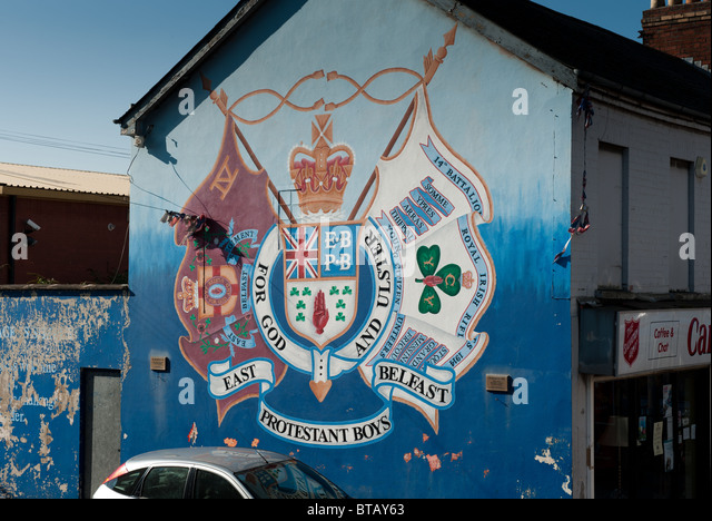 Mural belfast ira stock photos mural belfast ira stock for Mural northern ireland