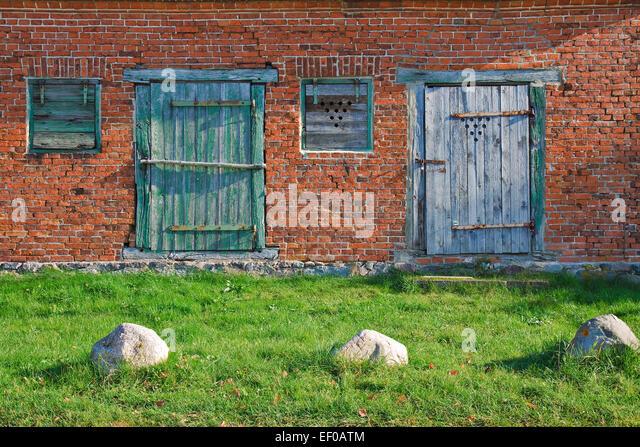 Detail of an old house. - Stock-Bilder