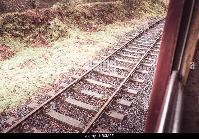 Heritage train rides - Stock Image