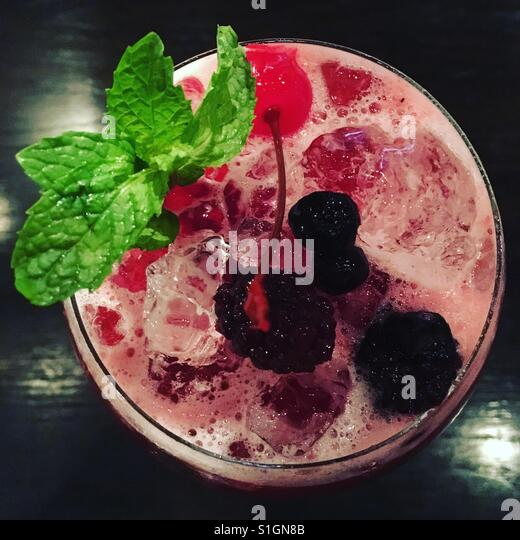 Berry mocktail - Stock-Bilder