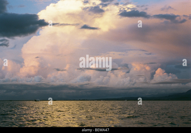 Myanmar (Burma), seascape at dawn - Stock-Bilder
