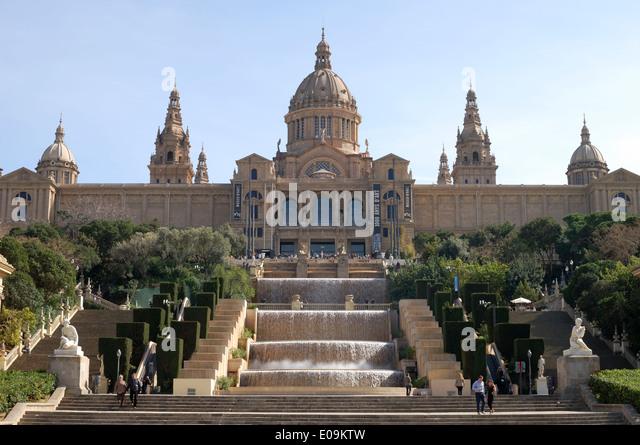Museum of catalan art stock photos museum of catalan art for Artiste peintre catalan