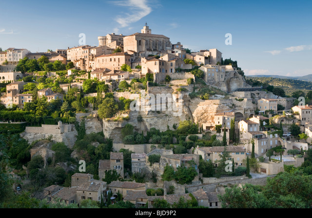 Gordes, Vaucluse, Provence, France - Stock Image