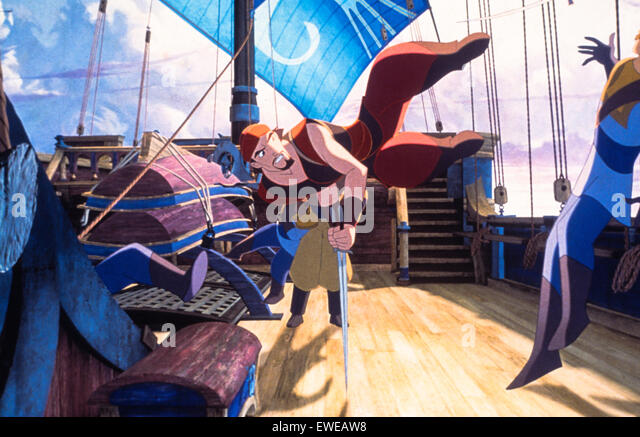 Sinbad legend of the seven seas - Stock Image