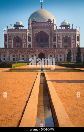 Humayun's tomb is the tomb of the Mughal Emperor Humayun - Stock-Bilder