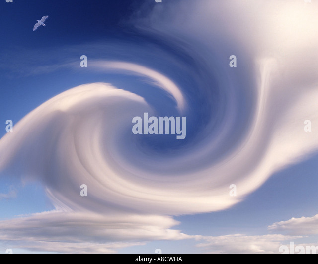 BACKGROUND CONCEPT:  Digital Cloud Formation - Stock Image