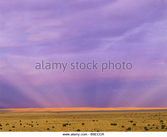 View of the Painted Desert Navajo Indian Reservation from Wupatki National Monument Arizona - Stock-Bilder