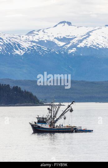 Commercial fishing juneau alaska stock photos commercial for Juneau alaska fishing