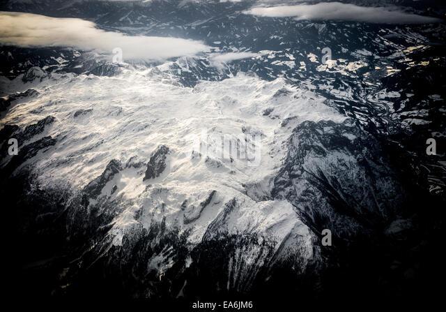 Austria, Innsbruck, Tyrol at Winter - Stock Image