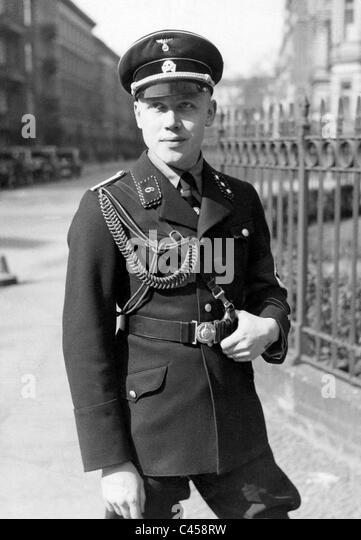 SS-Man, 1933 - Stock-Bilder