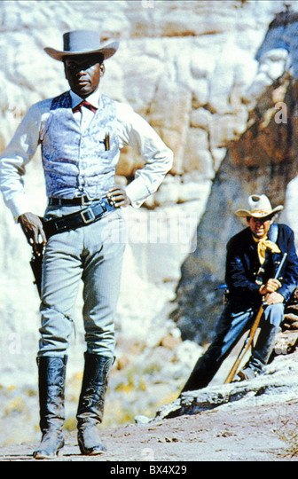 SIDNEY POITIER DUEL AT DIABLO (1966) - Stock Image