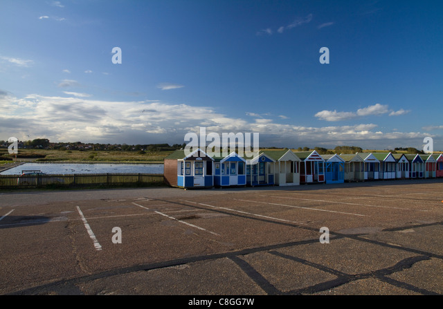 Model huts stock photos model huts stock images alamy for Model beach huts