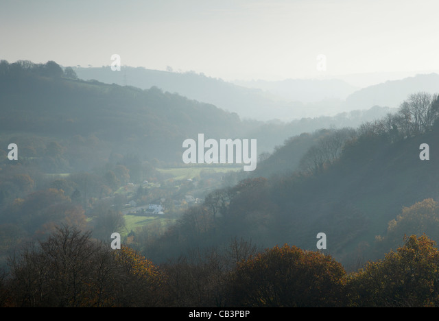 The Tone Valley at Waterrow near Wiveliscombe. Somerset. England. UK. - Stock Image