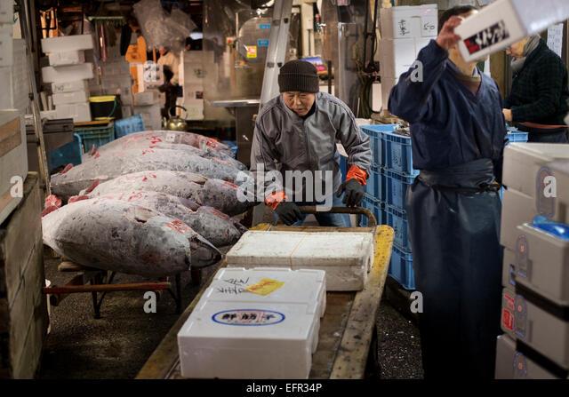 Wholesale stock photos wholesale stock images alamy for Tsukiji fish market chicago