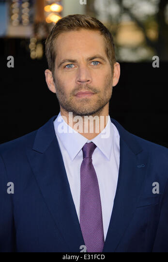 World Premiere of 'Fast & Furious 6' held at the Empire Leicester Square - Arrivals.  Featuring: Paul - Stock Image