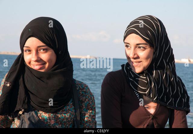 alexandria egypt women