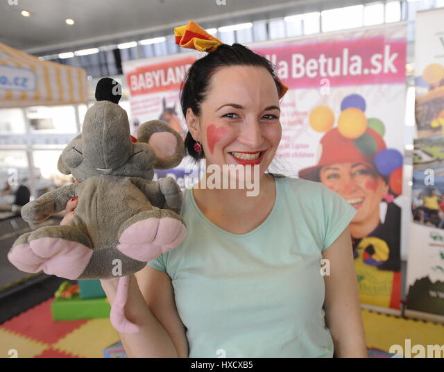 PRODITE Fair (Children goods exhibition) is the most important contracting and sales presentation of baby products - Stock-Bilder