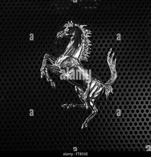 Ferrari symbol silver