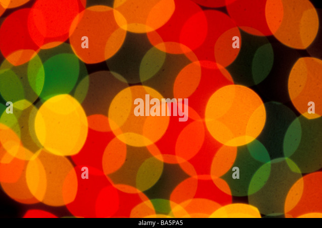 Abstract pattern of circles - Stock Image