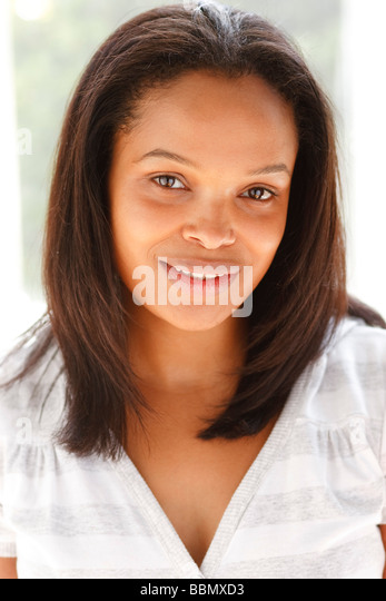 Ethnic woman portrait - Stock-Bilder
