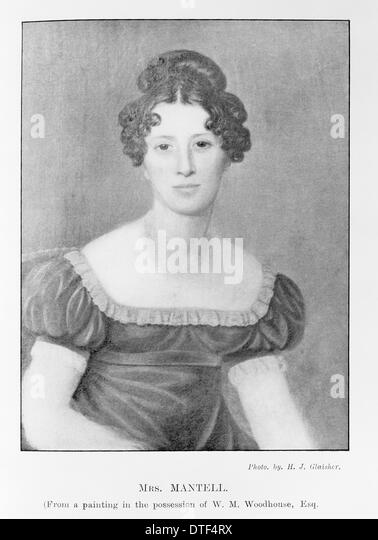 Mary Ann Mantell - Stock Image