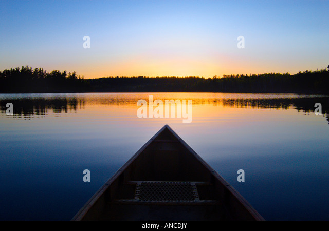 Paddling perspective - Stock Image