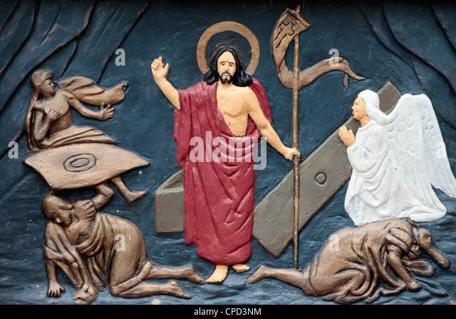 Christ's Resurrection, Ouidah, Benin, West Africa, Africa - Stock-Bilder