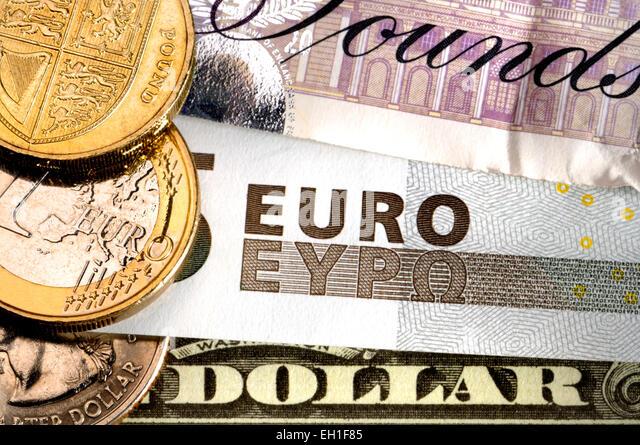 dollar pound euro stock photos dollar pound euro stock images alamy. Black Bedroom Furniture Sets. Home Design Ideas