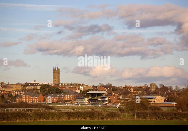 Warwick, Warwickshire, England, UK - Stock Image