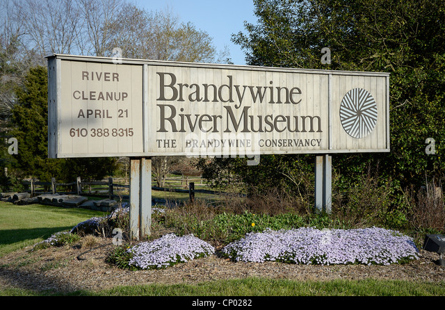 Brandywine River Museum, Chadds Ford, Pennsylvania, USA - Stock Image