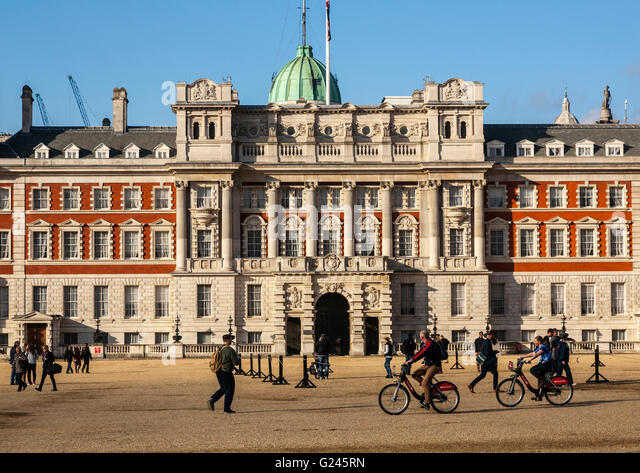 The Old Admiralty Building, Horseguards Parade, London, England. - Stock Image