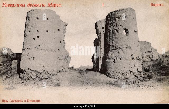 Ancient gateway - Stock Image